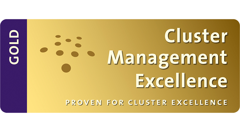 Billede af Cluster Management Excellence certifikat