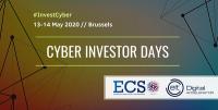 13-14/05 2020 ECSO Cyber Investor Days (webinar)